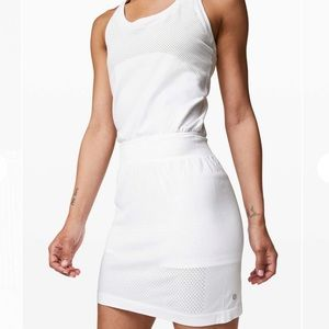 Lululemon Flex On Court White Tennis Dress